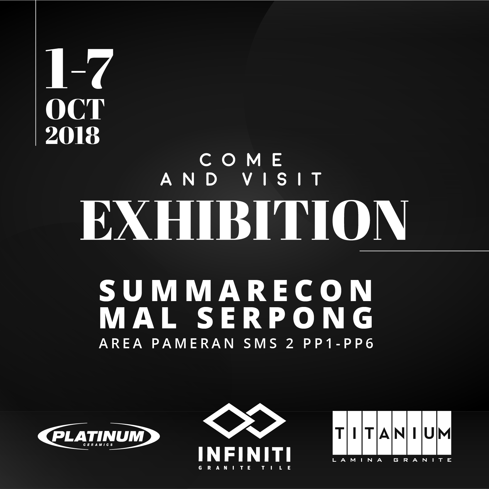 Visit Our Exhibition at Sumarecon Serpong Mal